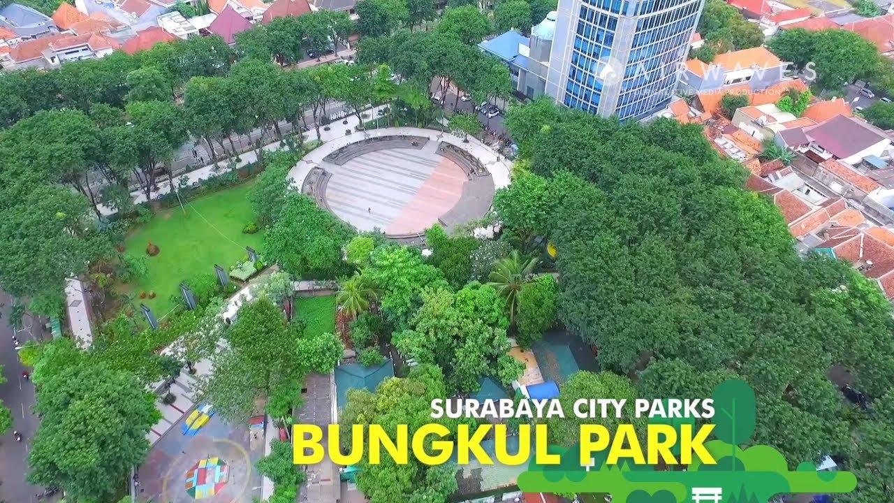 Bungkul Park Surabaya City Parks Taman Kota