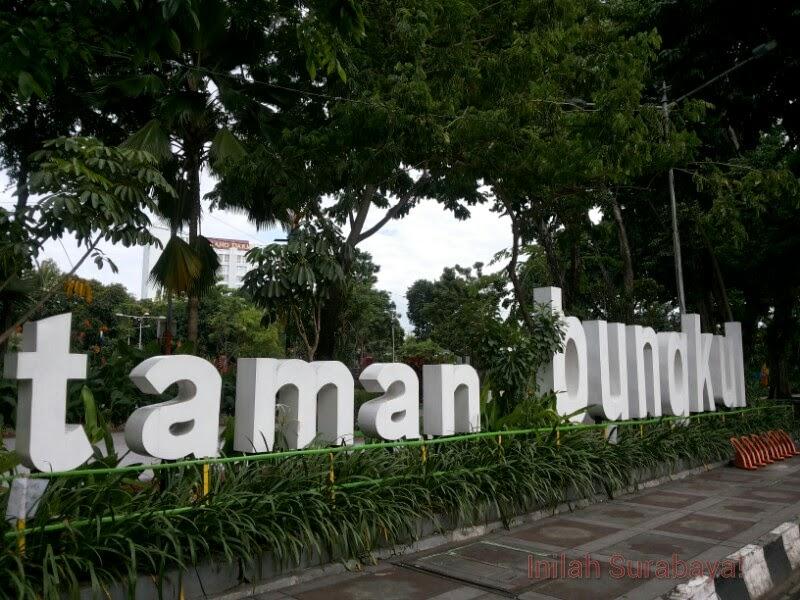 Inilah Surabaya Taman Bungkul Kota