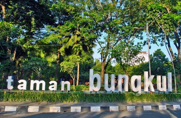 Rekreasi Gratis Taman Bungkul Surabaya Drive Id Kota