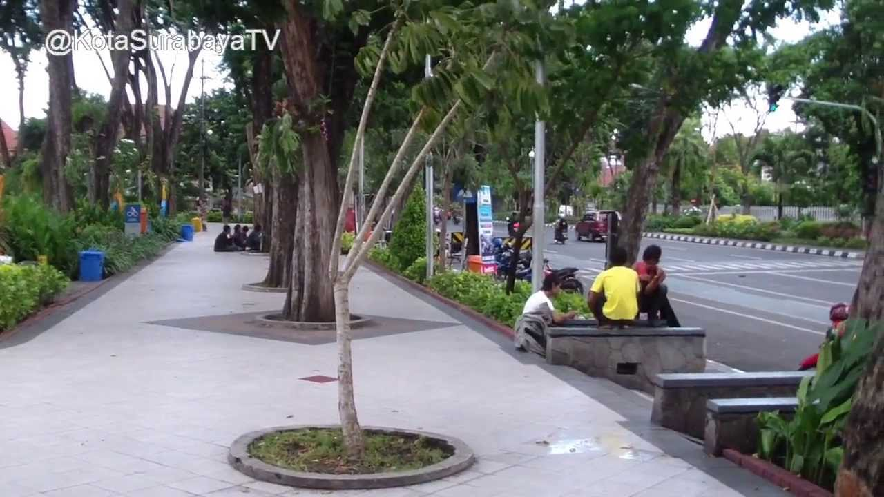 Taman Bungkul Kota Surabaya Youtube