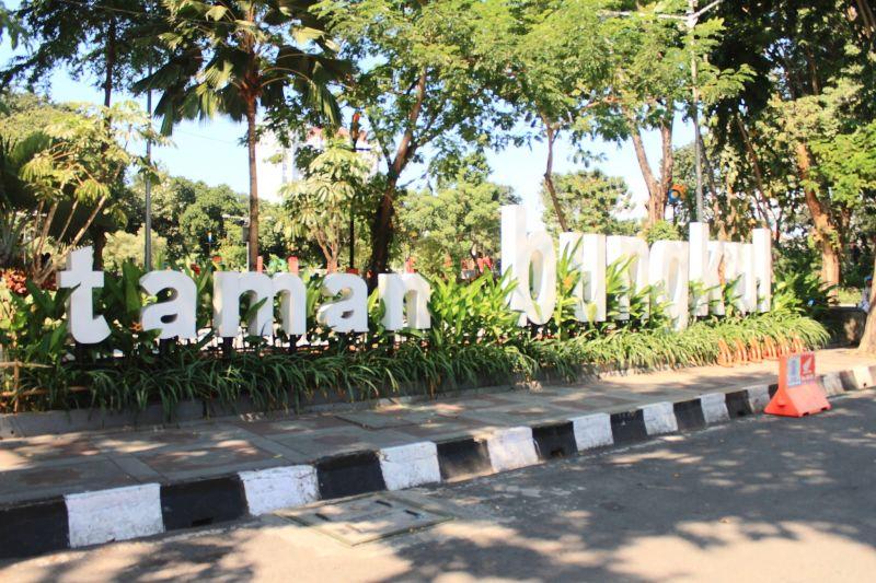 Taman Bungkul Kota Surabaya