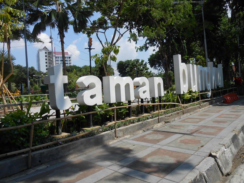 Taman Bungkul Surabaya Hasan Muthohar Flickr Elhasan Kota