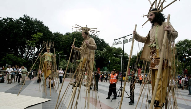 Taman Bungkul Surabaya Raih Penghargaan Dunia Pemilu 2014 Tempo Kota