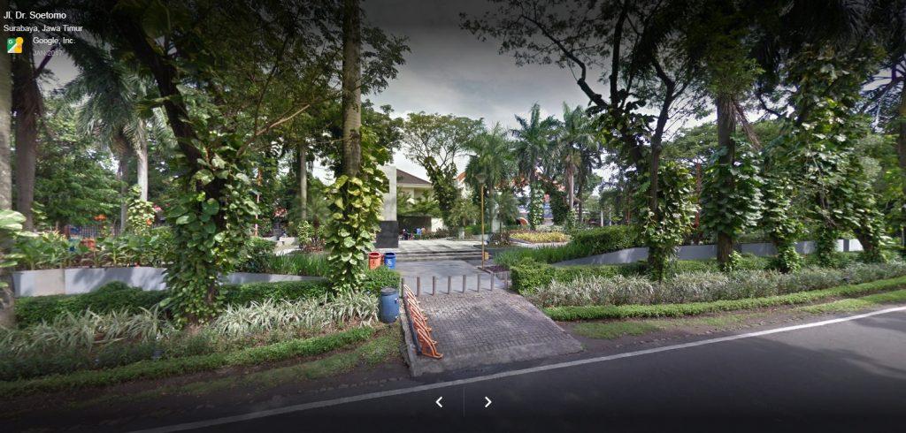 Hati Popers Taman Surabaya Bisa Bikin Baper Korea Tampak Samping
