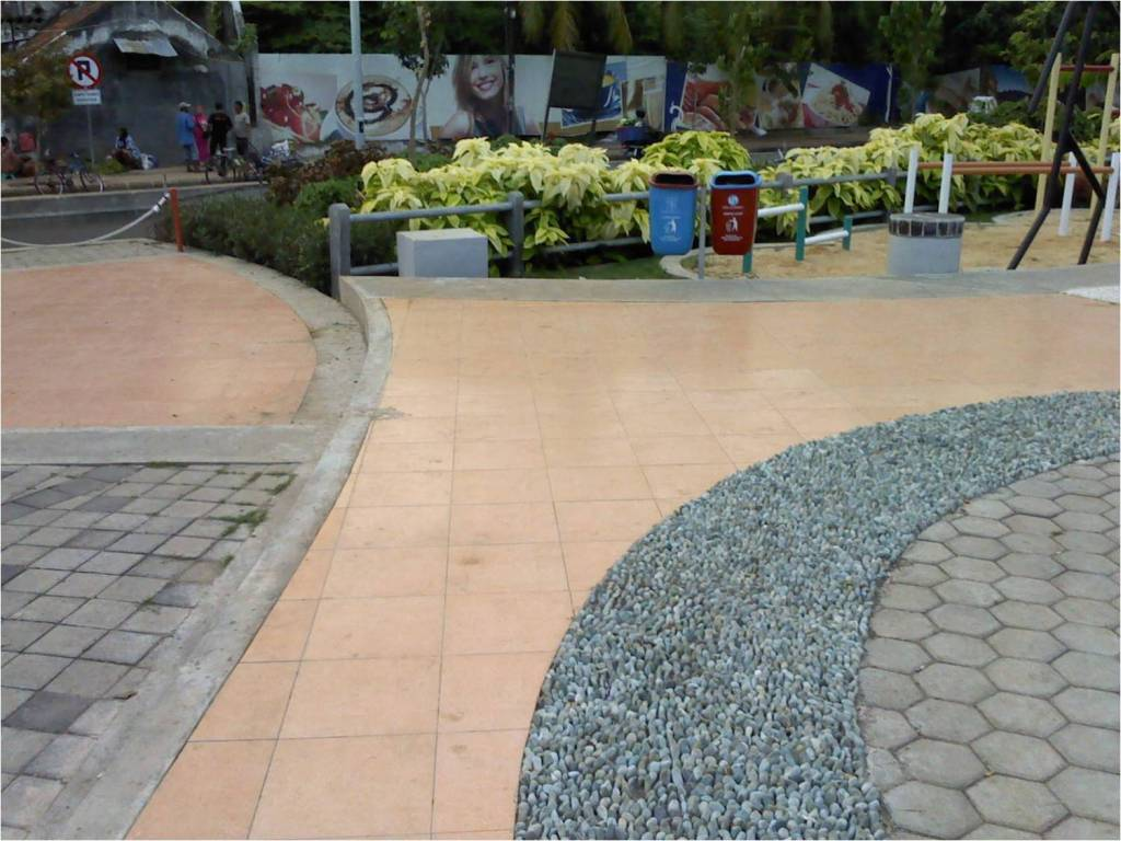 Pelancong Pesona Taman Kota Surabaya Laman 6 Jalur Pijat Refleksi