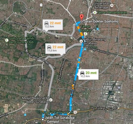 Pesona Keindahan Wisata Taman Dr Soetomo Surabaya Daftar Demikianlah Sedikit
