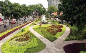 Taman Lansia Fasilitas Umum Surabaya Fungsi Kota Sebagai Tempat Olahraga