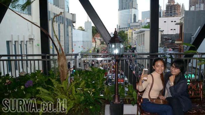 Long Weekend Surabaya Tempat Bisa Taman Gantung Tunjungan Kota