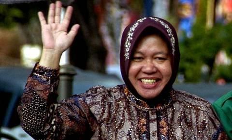 Suara Kawan Berita Impian Risma Bangun Taman Gantung Tengah Surabaya