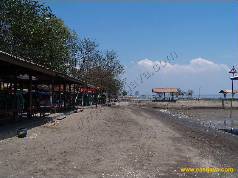 Kenjeran Beach Sport Activities Panorama Taman Kota Surabaya