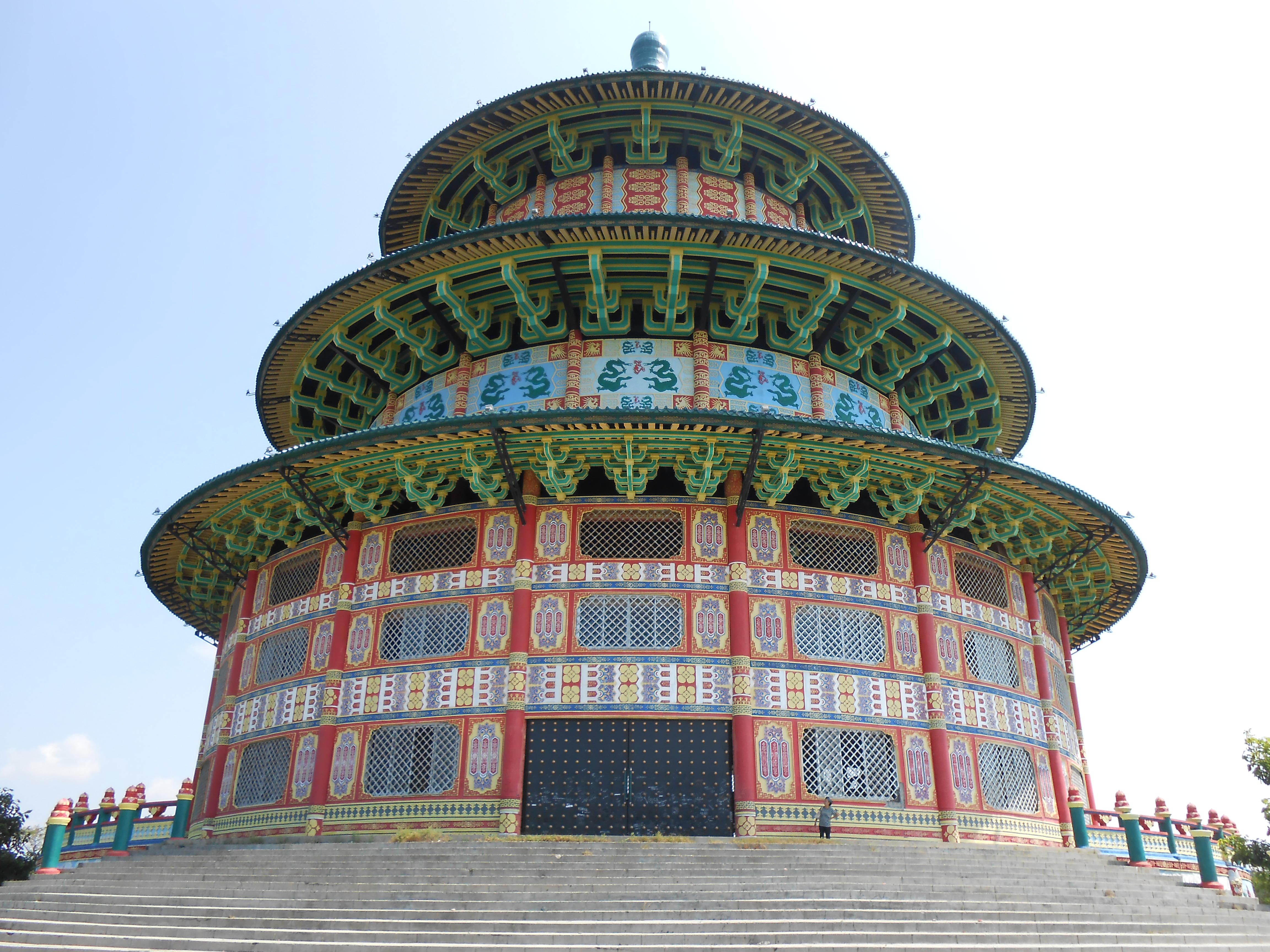 Klenteng Sanggar Agung Pagoda Tian Ti Terabaikan Eveline Kenjeran Surabaya