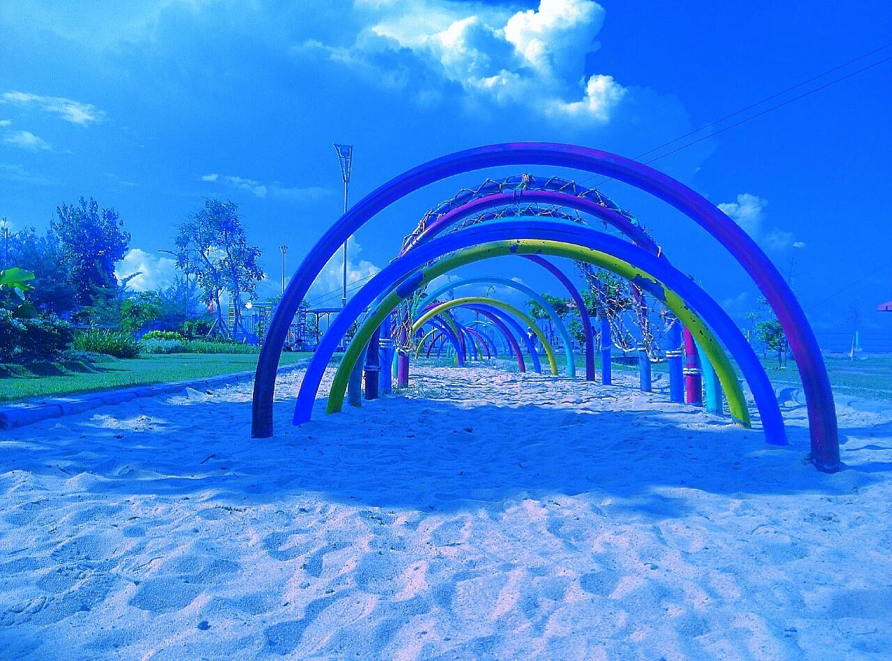 Muchson Fatoni Surabaya City Tour Taman Hiburan Pantai Kenjeran Rumah