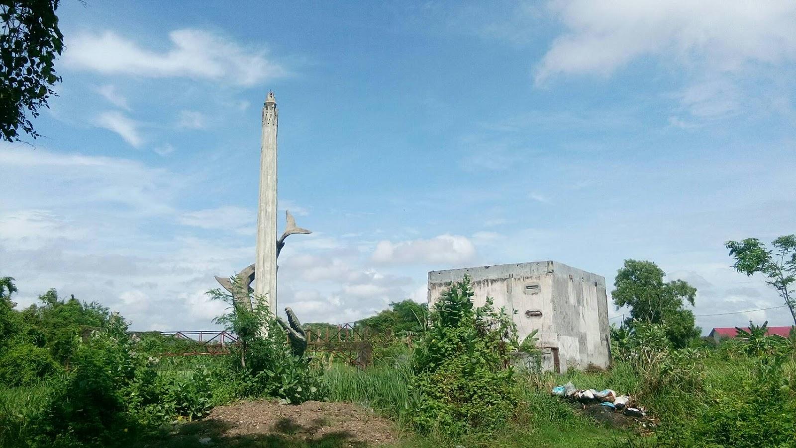 Patung Sura Baya Kenjeran Riwayatmu Kim Bahari Sukolilo Taman Kota