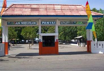 Rainbow Blog Pantai Kenjeran Surabaya Taman Hiburan Lokasinya Terletak Bagian
