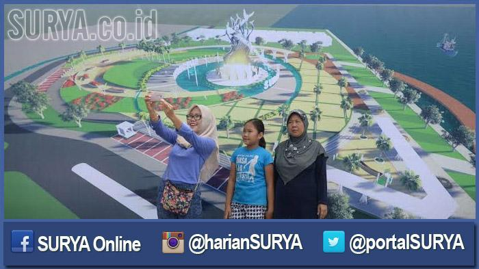Surabaya Bangun Patung Suro Boyo Setinggi 25 Meter Lokasinya Taman