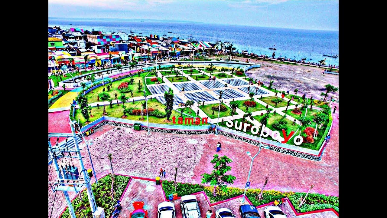 Taman Surabaya Flyingvlog2 Youtube Kenjeran Kota