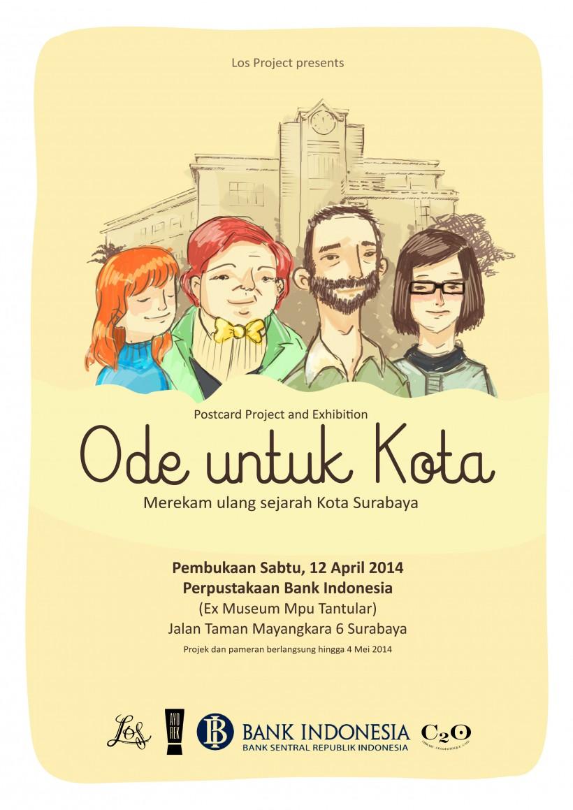 Ode Kota Merekam Ulang Sejarah Surabaya Postcard Sejak Perjuangan Bahkan