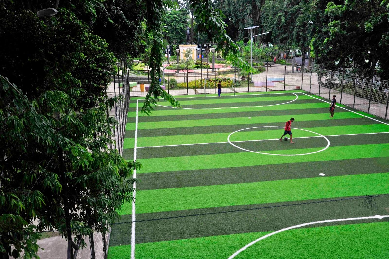 Pemkot Fasilitasi Lapangan Futsal Gratis Surabaya News Week Menyadari Hal