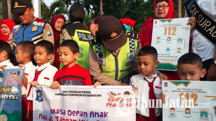 Perangi Kekerasan Anak Pemkot Surabaya Libatkan Lapisan Ajak Tni Polri