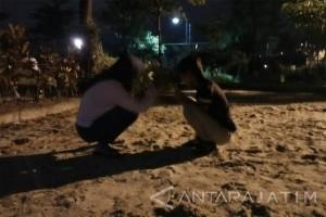Taman Mayangkara Surabaya Antara News Jawa Timur Dua Pengunjung Bermain