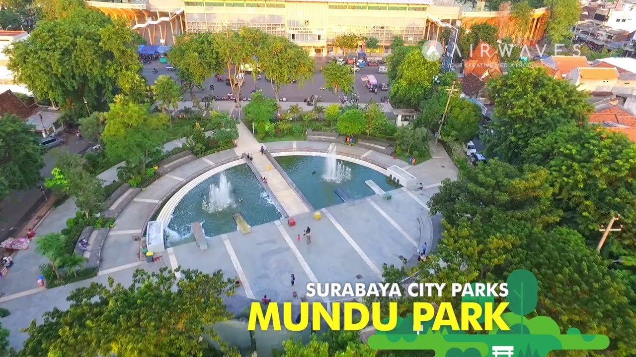 Mundu Park Surabaya City Parks Taman Kota