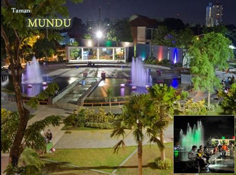 Taman Cantik Surabaya Racikan Risma 9 Mundu Kota