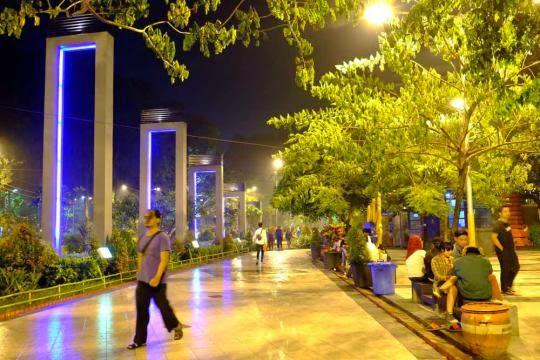 Taman Kota Surabaya Destinasi Wisata Swaraguna Media Mundu