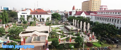 Taman Kota Surabaya Sewa Mobil Jayengrono Berada Kawasan Jembatan Merah