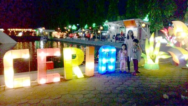 Indahnya Gemerlap Lampion Taman Pelangi Monjali Yogyakarta Kota Surabaya