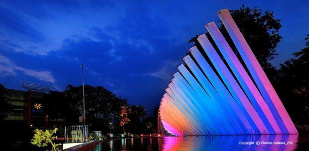 Pesona Taman Pelangi Surabaya Tidak Bisa Lewatkan Kota