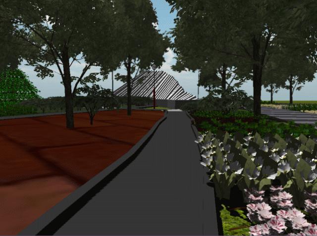Review Realitas Visual Taman Pelangi Ikon Hijau Pinggiran Kota 1