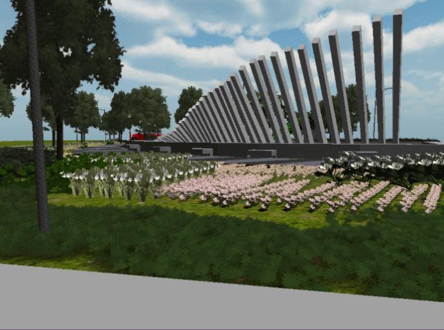 Review Realitas Visual Taman Pelangi Ikon Hijau Pinggiran Kota 5