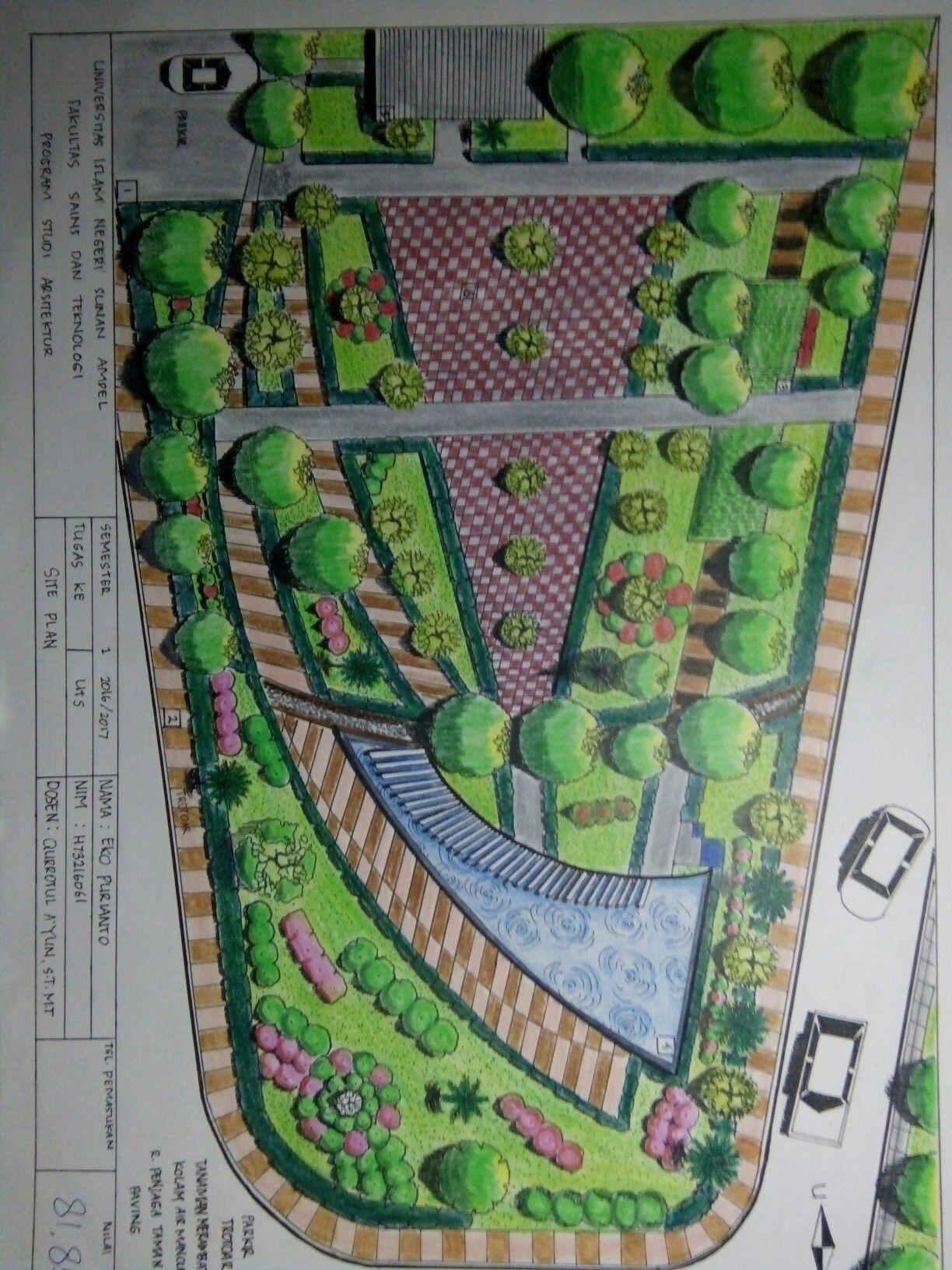 Site Plan Taman Pelangi Surabaya Eko Pinterest Plans Kota