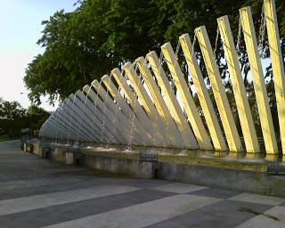 Surabaya Love Taman Pelangi Salah Satu Ruang Terbuka Hijau Rth