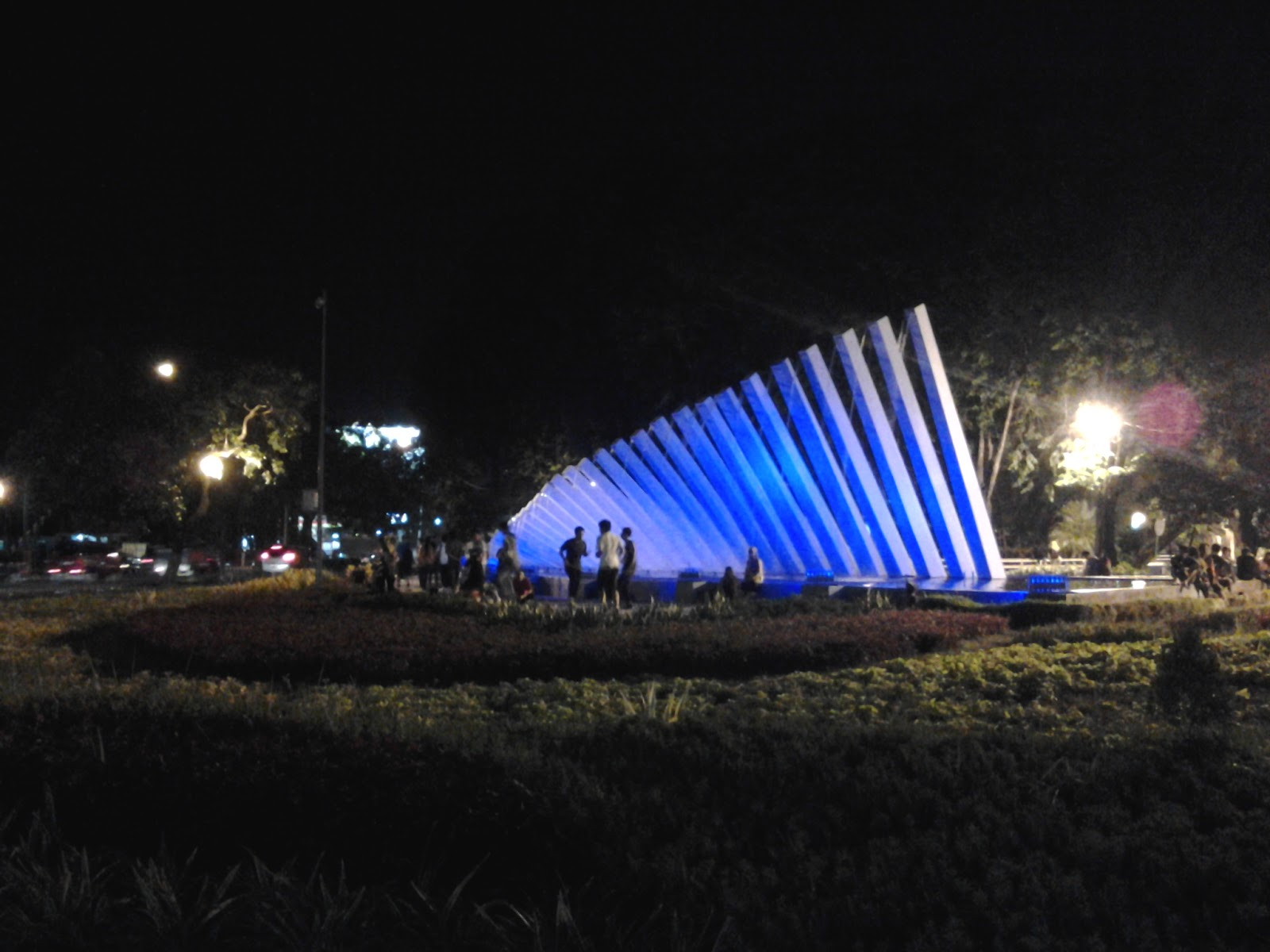 Taman Pelangi Surabaya Sisi Lain Kota Suasana Keindahan Semakin Terasa