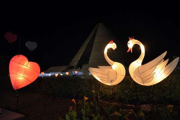 Taman Pelangi Tempat Berkumpulnya Lampion Unik Jogja Pemandangan Fotoindonesia Kota