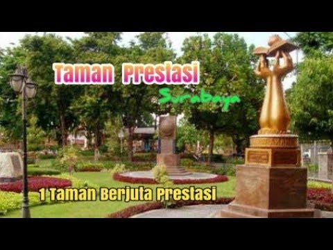 Keindahan Taman Prestasi Surabaya Youtube Kota