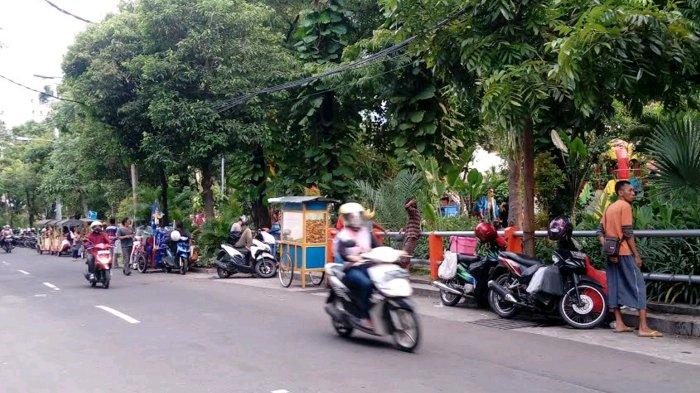 Pedagang Taman Prestasi Surabaya Kucing Kucingan Satpol Pp Kota