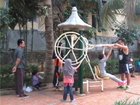 Rekreasi Ayo Taman Prestasi Kota Tangerang Zona Libur Surabaya