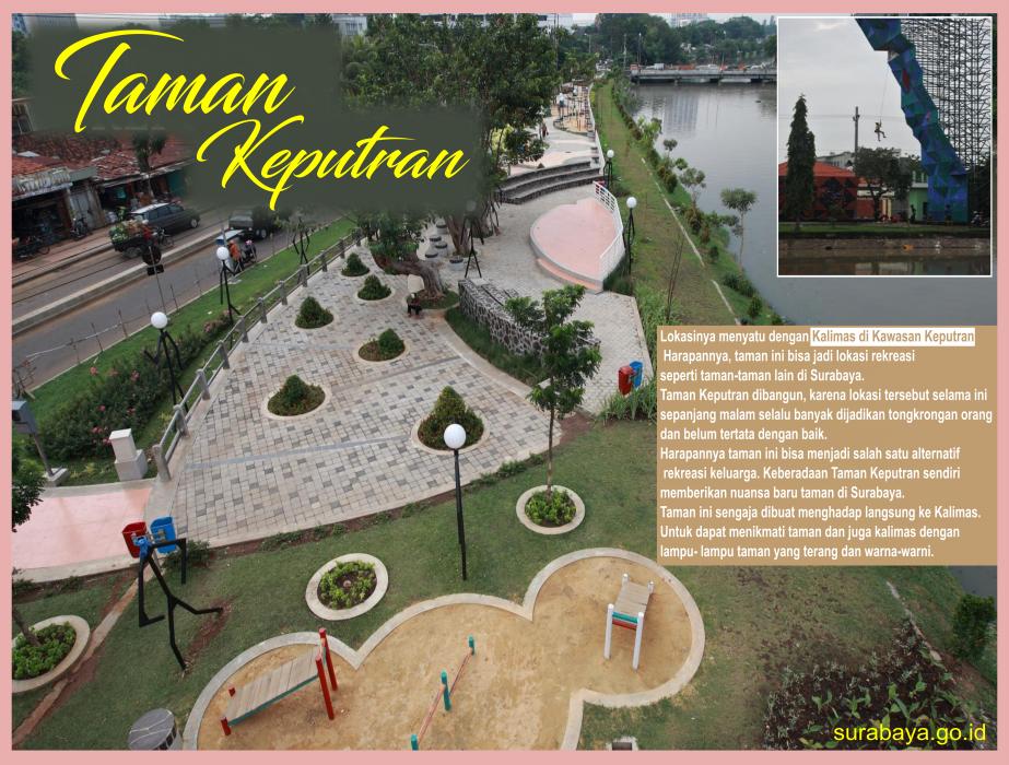 Surabaya Id Taman Keputran Prestasi Kota