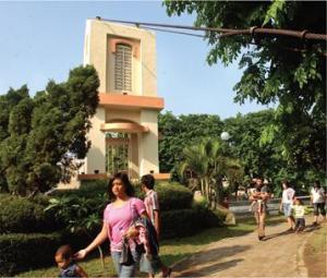 Taman Prestasi Fasilitas Umum Surabaya Sumber Dinas Kebersihan Pertamanan Kota