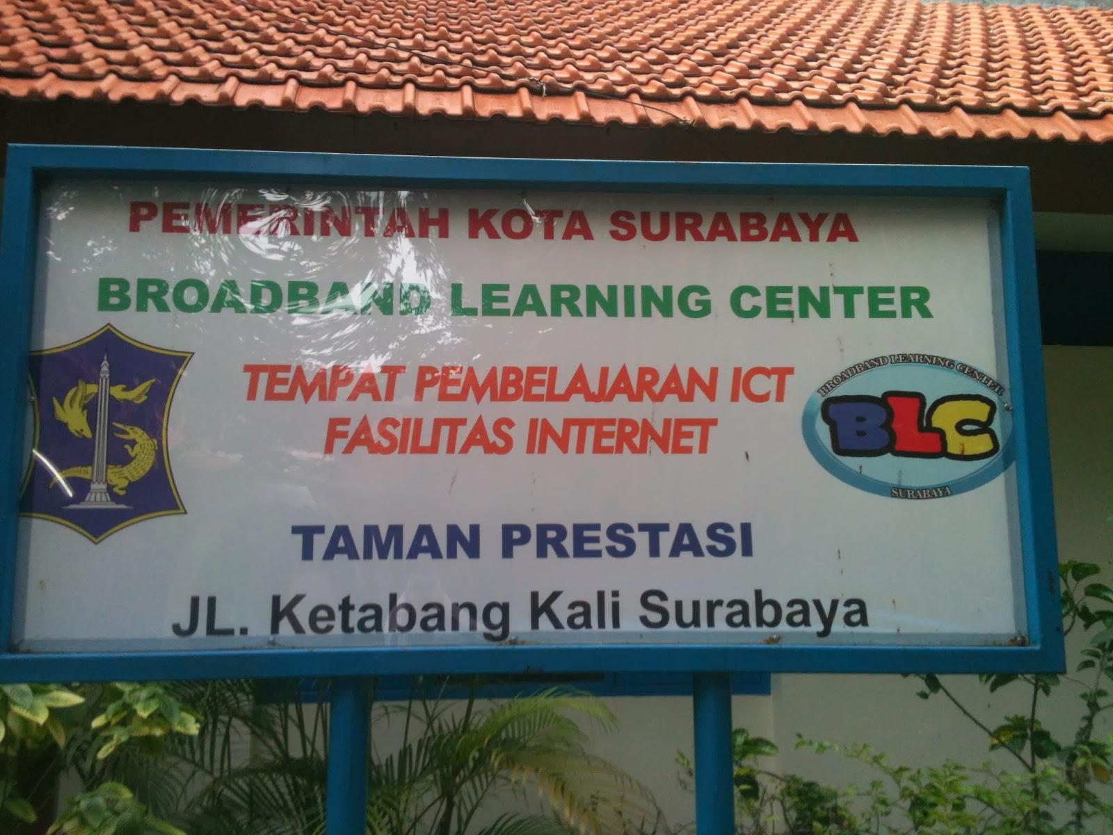 Taman Prestasi Wisata Murah Meriah Surabaya Kecamatan Berprestasi Blcsurabaya Blogspot