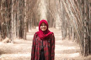 Blogger Taman Sakura Hutan Bambu Keputih Coretan Kota Surabaya