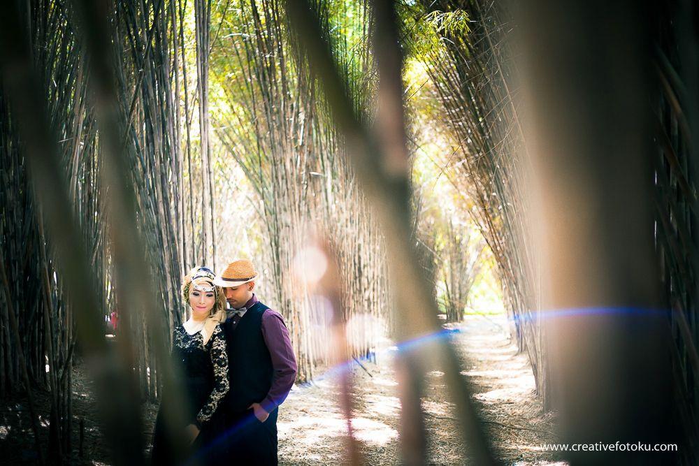 Kumpulan Foto Prewedding Hutan Bambu Keputih Taman Sakura Surabaya Kota