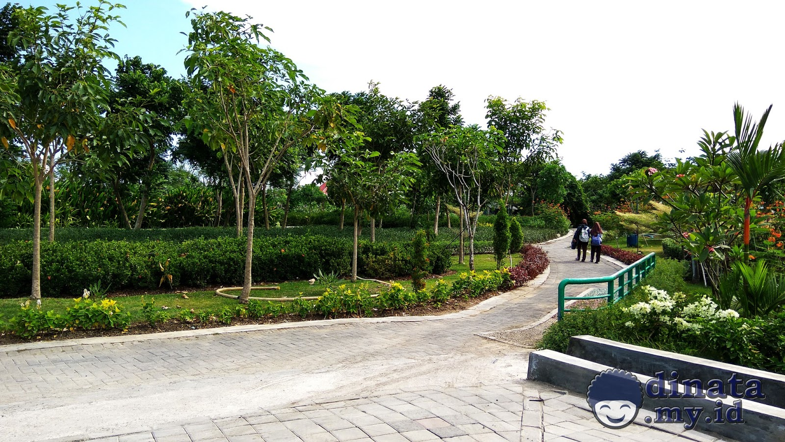 Taman Sakura Keputih Surabaya Pinggiran Timur Jalan Setapak Kota
