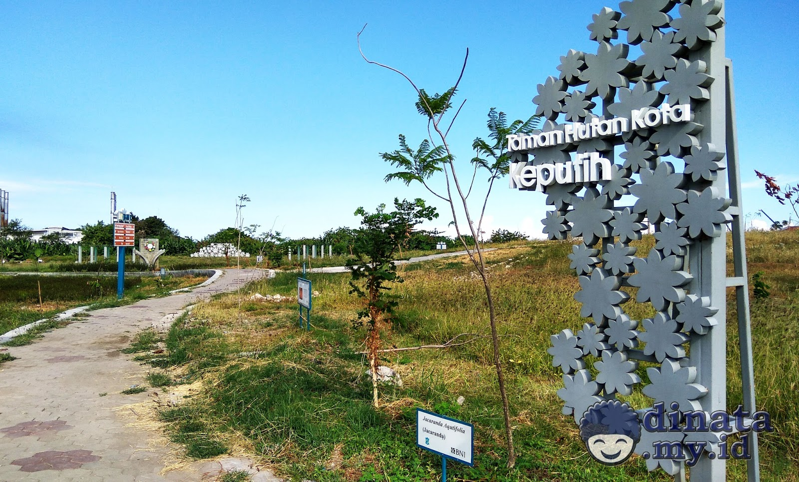 Taman Sakura Keputih Surabaya Pinggiran Timur Kota