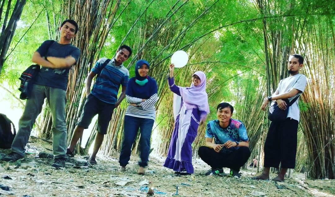 Wisata Gratis Hutan Bambu Taman Sakura Surabaya Rumah Cinta Zie