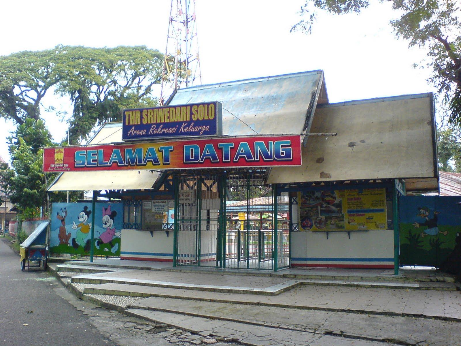 Blog Kota Solo Spirit Java Taman Hiburan Rakyat Sriwedari Thr
