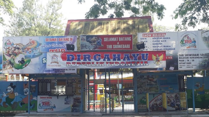 Duh Taman Hiburan Rakyat Sriwedari Solo Berhenti Beroperasi Thr Kota