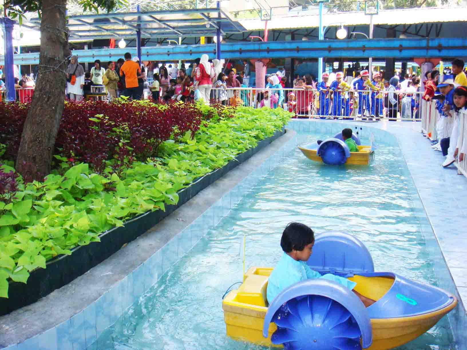 Taman Remaja Power Boat Thr Hiburan Rakyat Kota Surabaya